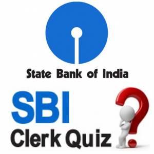 SBI Clerk Quiz