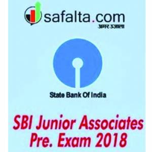 SBI Junior Associates Pre Exam - 2018 Hindi