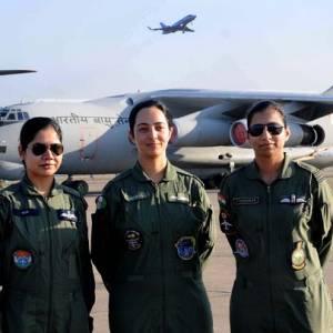 woman IAF