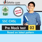 SSC CHSL Pre Mock test