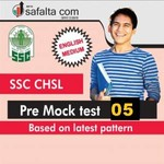 SSC CHSL Tier-5 Mock Test 5 English
