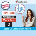 IBPS RRBs Officers Scale-I and Office Assistant Exam Mock Test-3 For Mains In English