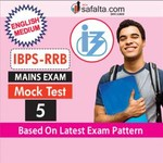 IBPS RRBs Officers Scale-I and Office Assistant Exam Mock Test-5 For Mains In English