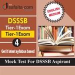 DSSSB Tier-01 Mock Test 4 In English