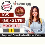 KVS TGT, PGT/PRT Common Paper Mock Test-1 In English