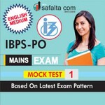 Buy Latest IBPS PO (Mains) Exam Mock Test 1 Online @ Best Price