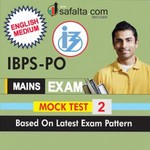 Buy Latest IBPS PO (Mains) Exam Mock Test 2 Online @ Best Price