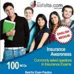 Buy Insurance Awareness Commonly asked Questions in Insurance Exams @ Best Price