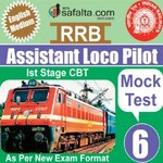 Buy RRB-ALP Mock Test - 6 Edition @ safalta.com