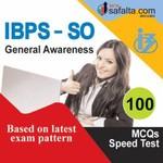 Buy General Awareness Speed Test for IBPS-SO @ Safalta.com