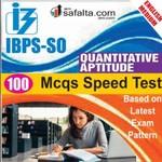 Buy IBPS-SO 100 Mcqs Quantitative Aptitude @ safalta.com