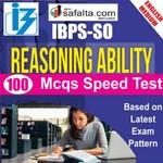 Buy IBPS-SO 100 Mcqs Reasoning Ability @ safalta.com