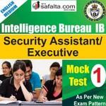 Buy Intelligence Bureau Mock Test - 1st Edition @ safalta.com
