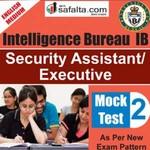 Buy Intelligence Bureau Mock Test - 2nd Edition @ safalta.com