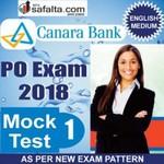 Buy Canara Bank PO Mock Test - 1st Edition @ safalta.com