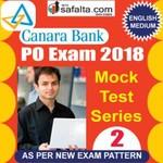 Buy Canara Bank PO 02 Mock Test Series 2018 Online @ Best Price