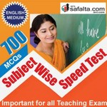 Buy 700 Mcqs Subject Wise Speed Test Series For All Teaching Exams