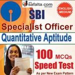 Buy SBI SO 100 Mcqs Quantitative Aptitude Speed Test @ safalta.com