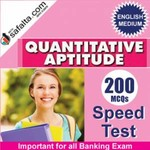Quantitative Aptitude 200 Mcqs Speed Test For All Banking Exams @ safalta.com