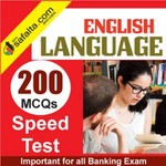 English Language 200 Mcqs Speed Test For All Banking Exams @ safalta.com