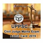 UPPSC Civil Judge Mains Exam 2018  Admit Card 2019 Issued: Download Your Call Letter Here