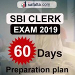 SBI Clerk Recruitment Exam 2019: 60 Days Preparation Plan