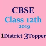 CBSE Class 12th Result 2019 Topper List