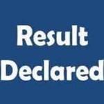 Result declared