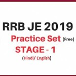 RRB JE CBT 1 PRACTICE QUESTIONS