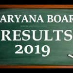 Haryana Board Result 2019