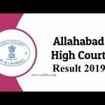 ALLAHBAD HIGH COURT 2019
