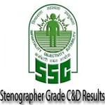 एसएससी स्टेनोग्राफर के परिणाम हुए घोषित