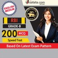RBI Grade-B Speed Test-English