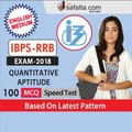 Quantitative Aptitude for IBPS RRB In English