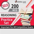 200 Mcq Reasoning Practice Set-English