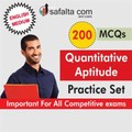 200 Mcq Quantitative Aptitude Practice Set-English
