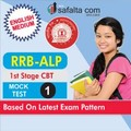 RRB-ALP 1st Stage CBT Mock Test 1 In English