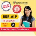 RRB-ALP 1st Stage CBT Mock Test 2 In English