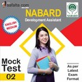 NABARD- Development Assistant Pre Mock Test-2 In English