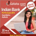 Buy Indian Bank PO 2018 Practice Set for Quantitative Aptitude