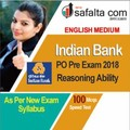 Buy Indian Bank PO 2018 Speed Test for Reasoning Ability