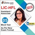 Buy LIC HFL Assistant/Associate Exam Mock Test 5th Edition