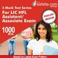 Buy Test Series for LIC HFL Assistant/Associate 2018 Exam for All Subject