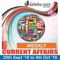 Weekly Current Affairs 29 Sep - 05 Oct: From Bullet Train to Noble Prizes