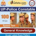 Buy 100 Mcq GK Booster for UP police Constable @ safalta.com