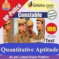 Buy 100 Mcq Quantitative Aptitude for UP police Constable @ safalta.com
