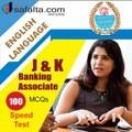 Top 100 Mcqs English Language For J&K Banking Associate