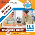 Top 100 Mcqs Reasoning Ability For J&K Banking Associate
