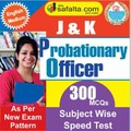 Buy J&K PO Subject Wise Speed Test Series @ safalta.com