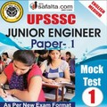 Buy UPSSSC JE Paper-I Mock Test - 1st Edition @ safalta.com